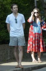 KEIRA KNIGHTLEY and James Righton Out in London 05/08/2020