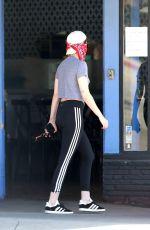 KRISTEN STEWART Wearing Bandana Mask Out in Los Feliz 05/16/2020