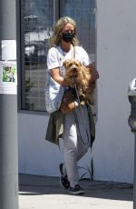 LADY VICTORIA HERVEY Out with Her Dog in West Hollywood 05/21/2020