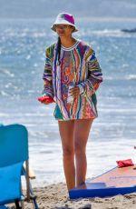 LAIS RIBEIRO at a Beach in Malibu 05/25/2020