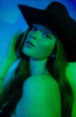 LARSEN THOMPSON for Love Magazine Facetime Photoshoot, May 2020