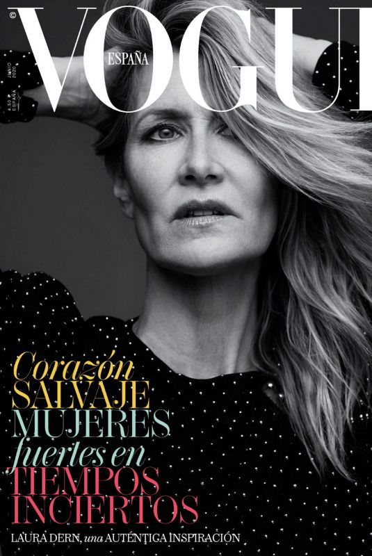LAURA DERN in Vogue Magazine, Spain June 2020