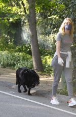 LAURA DERN Out with Her Dog in Pacific Palisades 05/21/2020