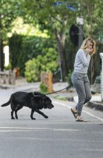 LAURA DERN Out with Her Dog in Pacific Palisades 05/518/2020