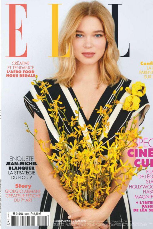 LEA SEYDOUX in Elle Magazine, France May 2020