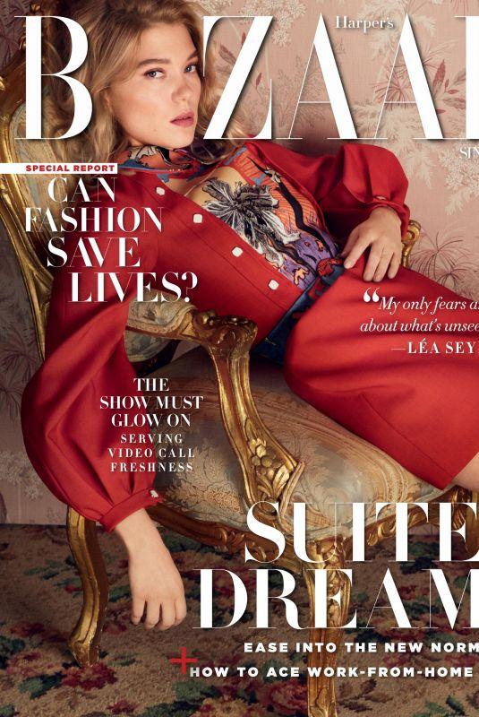 LEA SEYDOUX in Harper's Bazaar Magazine, Singapore May 2020