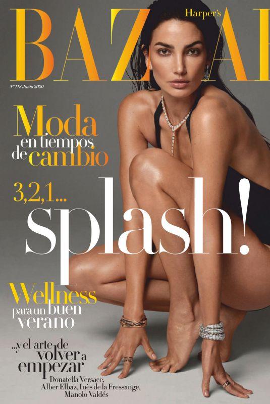 LILY ALDRIDGE in Harper's Bazaar Magazine, Spain June 2020