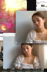 LILY CHEE - Facetime Photoshoot, May 2020
