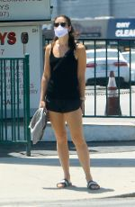 lMERCEDES MASON Out and About in West Hollywood 05/22/2020