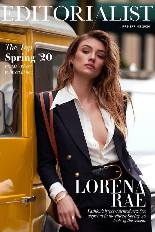 LORENA RAE in Editoralist Magazine, Pre-spring 2020
