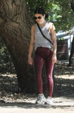 LUCY HALE Out and About in Studio City 05/22/2020
