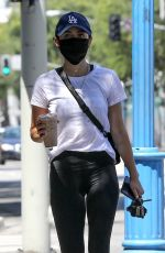 LUCY HALE Out and About in West Hollywood 05/26/2020