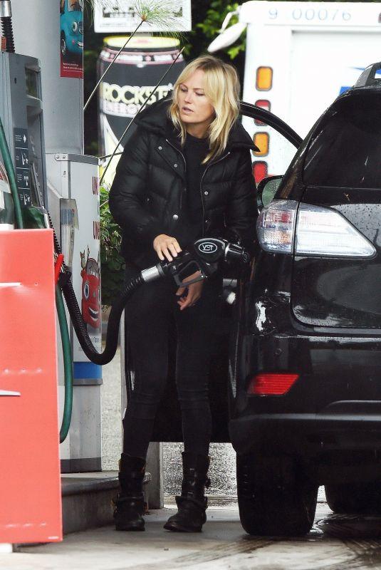 MALIN AKERMAN at a Gas Station in Los Angeles 05/10/2020