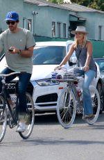 MALIN AKERMAN Out for Bike Ride in Venice Beach 05/10/2020