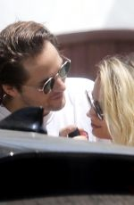 MARGOT ROBBIE and Tom Ackerley Out Kissing in Los Angeles 05/09/2020