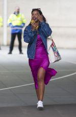 MAYA JAMA Leaves BBC Radio in London 05/02/2020