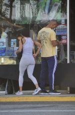 MEAGAN GOOD at a Smoke Shop in Wes Hollywood 05/09/2020