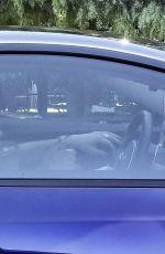 MEGAN FOX and Machine Gun Kelly Driving Out in Calabasas 05/15/2020