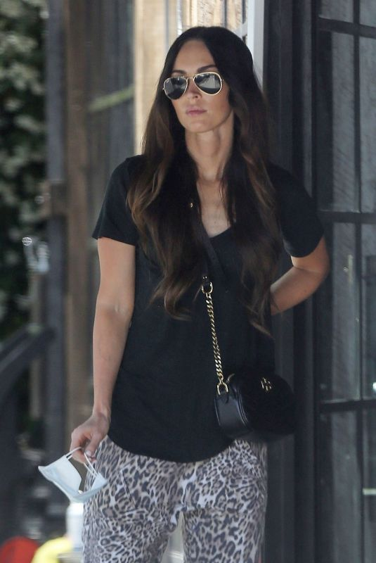 MEGAN FOX Out for Coffee in Los Angeles 05/27/2020