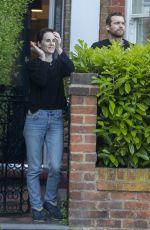 MICHELLE DOCKERY Outside Her Home in London 05/28/2020