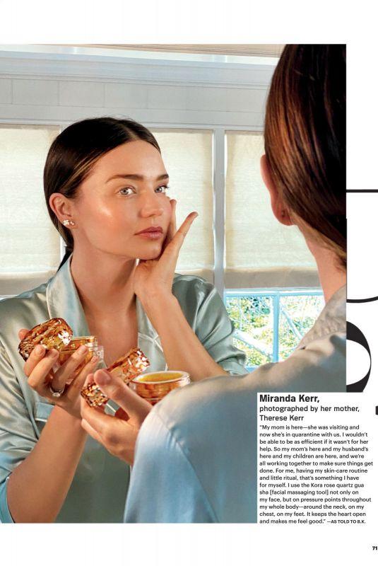 MIRANDA KERR in Allure Magazine, May 2020