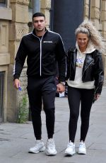 MOLLY MAE and Tommy Fury Out in Manchester 05/26/2020
