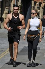 MOLLY MAE HAGUE Out in Manchester 05/20/2020