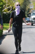 MOLLY SIMS and Scott Stuber Out in Santa Monica 05/01/2020
