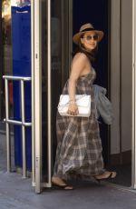 MYLEENE KLASS Arrives at Global Studios in London 05/19/2020