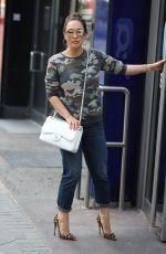 MYLEENE KLASS Arrives at Smooth Radio in London 05/14/2020