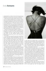 NAOMI CAMPBELL in The Sunday Times Style, May 2020