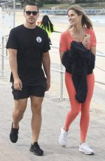 NATALIE ROSER and Harley Bonner Out in Sydney 05/13/2020