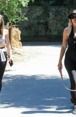 NATASHA ALAM and ANNA WALL Out with Their Dog Out in Los Angeles 05/27/2020