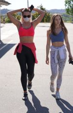 NATASHA ALAM and ANNA WALT Out Hiking in Bel Air 05/14/2020