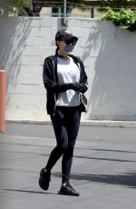 NAYA RIVERA Out and About in Los Angeles 05/08/2020