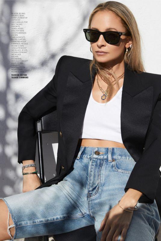 NICOLE RICHIE in Marie Claire Magazine, Summer 2020