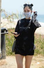 NICOLE WILLIAMS Out Hiking at a Beach in Malibu 05/30/2020