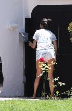 NINA DOBREV Outside Her House in West Hollywood 05/28/2020