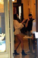 NINA MORIC Out Shopping in Milan 05/22/2020