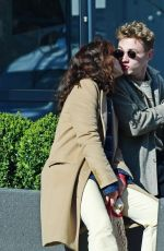 OLIVIA COOKE and Ben Hardy Out Kissing in Primrose Hills 03/23/2020