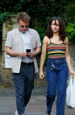 OLIVIA COOKE and Ben Hardy Out Shopping in Primrose Hills 04/10/2020