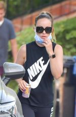 OLIVIA WILDE Out Hiking in Los Angeles 05/09/2020