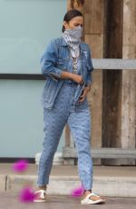 PAULA PATTON Out Shopping in Malibu 04/30/2020