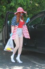 PHOEBE PRICE Heading to CVS in Los Angeles 05/22/2020