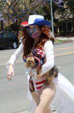 PHOEBE PRICE in a Patriotic Bikini on Memorial Day 05/25/2020