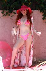 PHOEBE PRICE in Bikini at a Pool on Memorial Day Weekend 05/24/2020