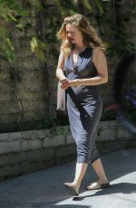 Pregnant ALICIA SILVERSTONE Out in Los Angeles 05/06/2020