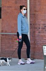 Pregnant HILARY RHODA Out and About in New York 05/21/2020