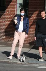 Pregnant HILARY RHODA Out in New York 05/25/2020