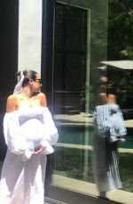 Pregnant LEA MICHELE - Instagram Photos 05/22/2020